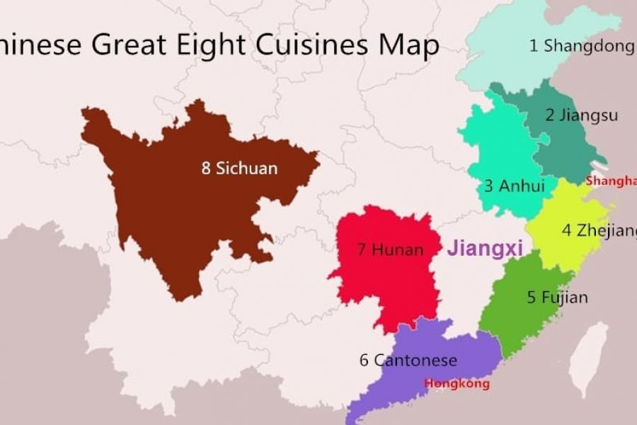 Le 8 cucine regionali cinesi