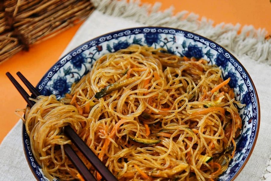 Gli spaghetti di lunga vita cinesi :长寿面 Changshoumian
