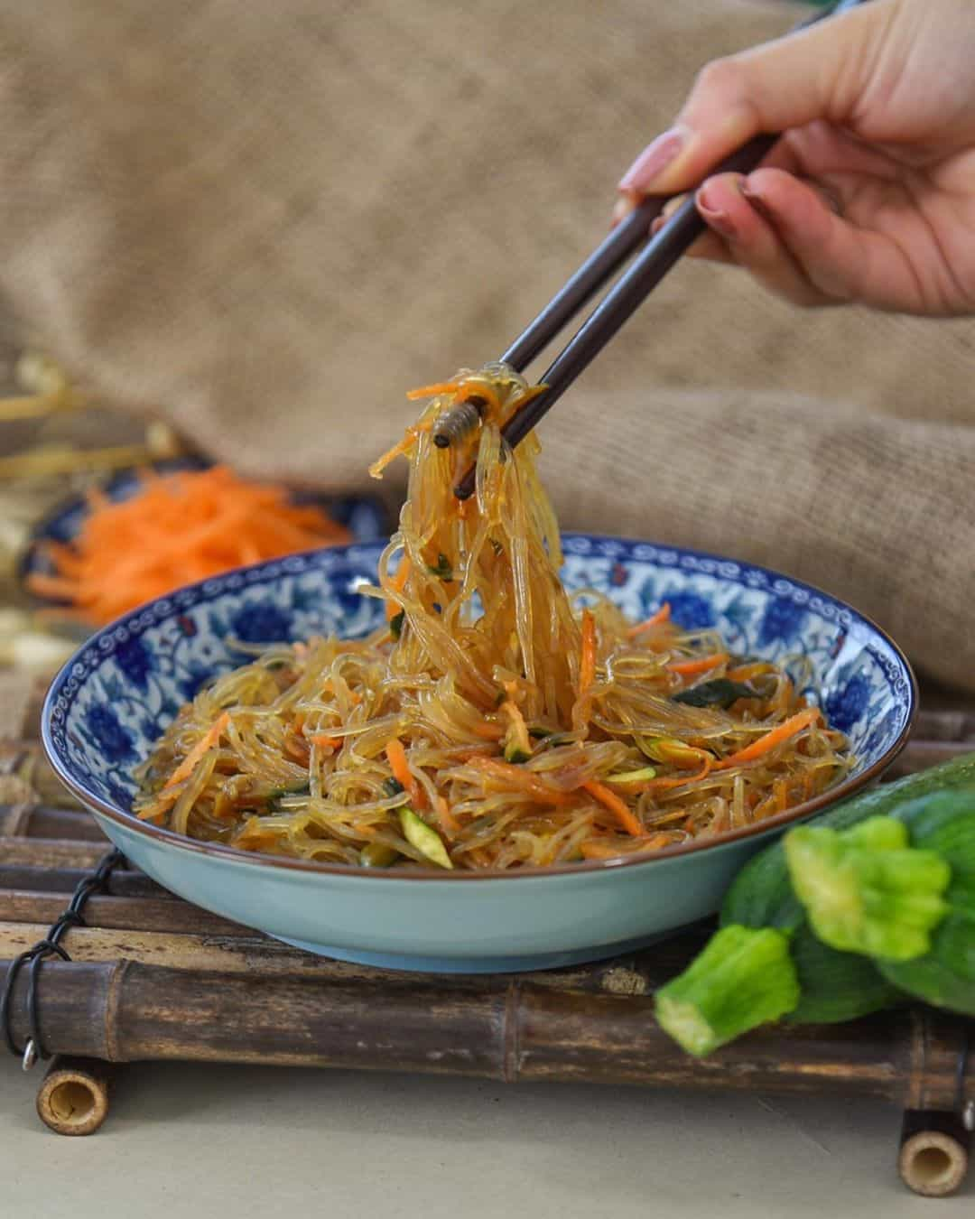Ricetta Noodles Di Soia.Ricetta Degli Spaghetti Di Soia Con Verdure Blog Mulan